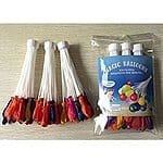 Magic Water Balloons Quick Fill 100 Balloons in Under 1 Minute No Tie $4.95 Free Shipping via Discount Deals on Amazon.