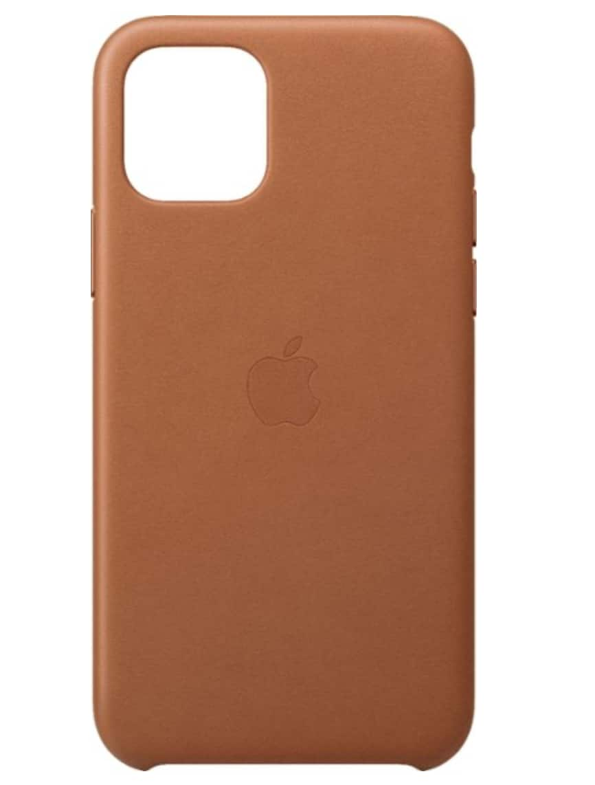 Apple iPhone 11 Pro Max Leather Case (Various Colors) $30 & More + Free S&H w/ My Best Buy Acct.