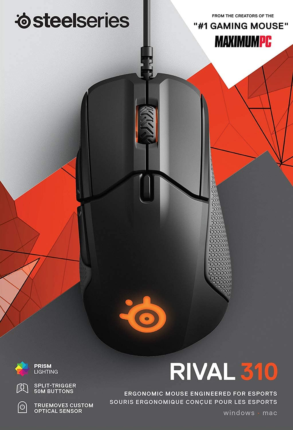 SteelSeries Rival 310 Gaming Mouse $24
