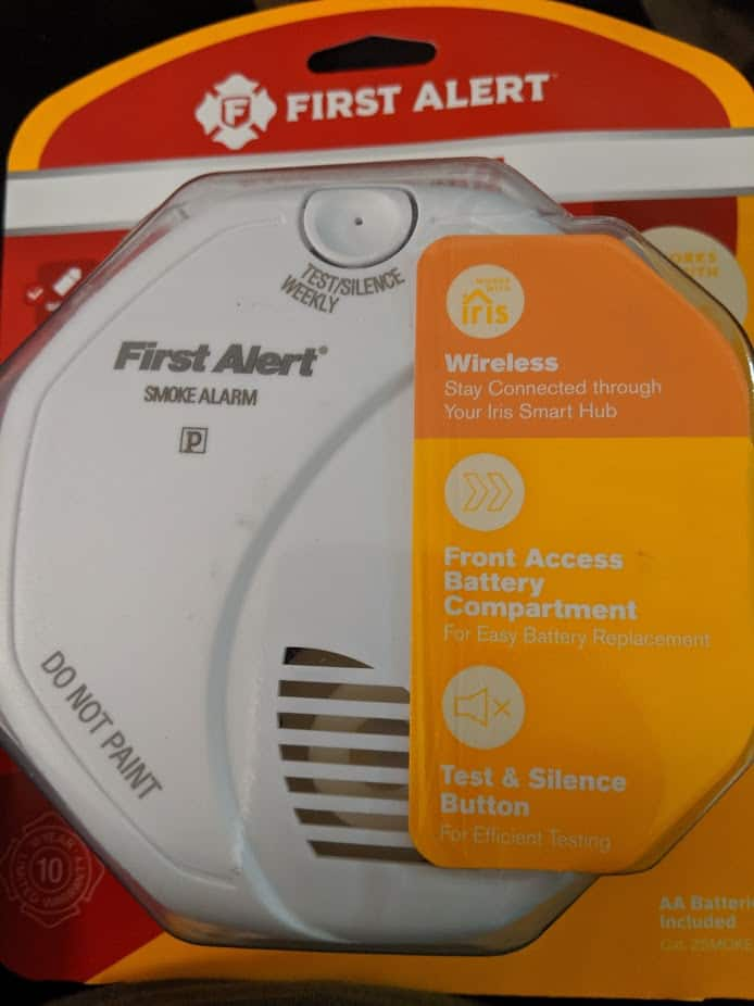 First Alert Z Wave Battery-powered 3-Volt Photoelectric Sensor Smoke Detector - YMMV In-Store Only $7.99