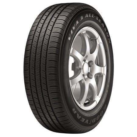 Goodyear Viva 3 all season tires $20 off at Wal-Mart