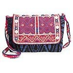 Street Level Woven Geo Print Crossbody Bag $23.98 + fs @nordstrom.com