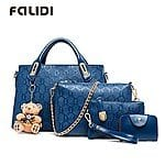 Falidi® Women'S Korean Version Of The Teddy Bear Pendant Bag Three-Piece Picture Pack $16.64 + ship @lightinthebox.com