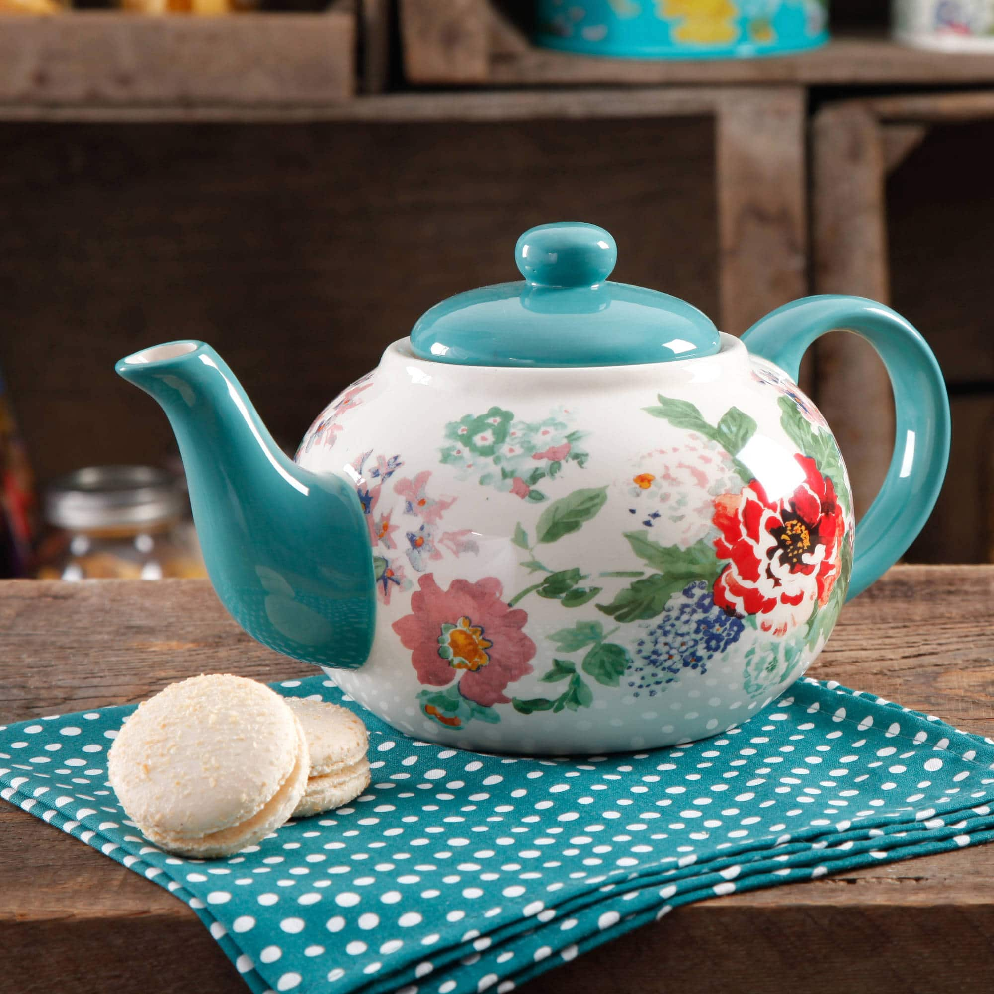 The Pioneer Woman Country Garden Teapot $9.99 $10