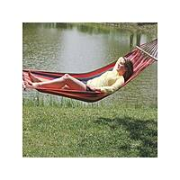 NeweggFlash Deal: Texsport Key Largo Hammock - Recycled Cotton - Red Rainbow Stripes $23.99 + fs @neweggflash.com