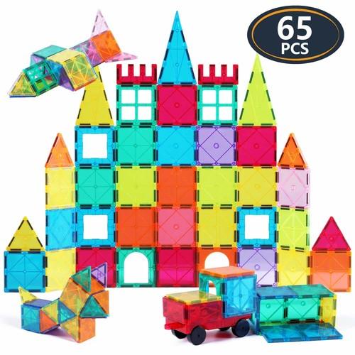 Jasonwell 65PCS 3D Magnetic Blocks $24.74