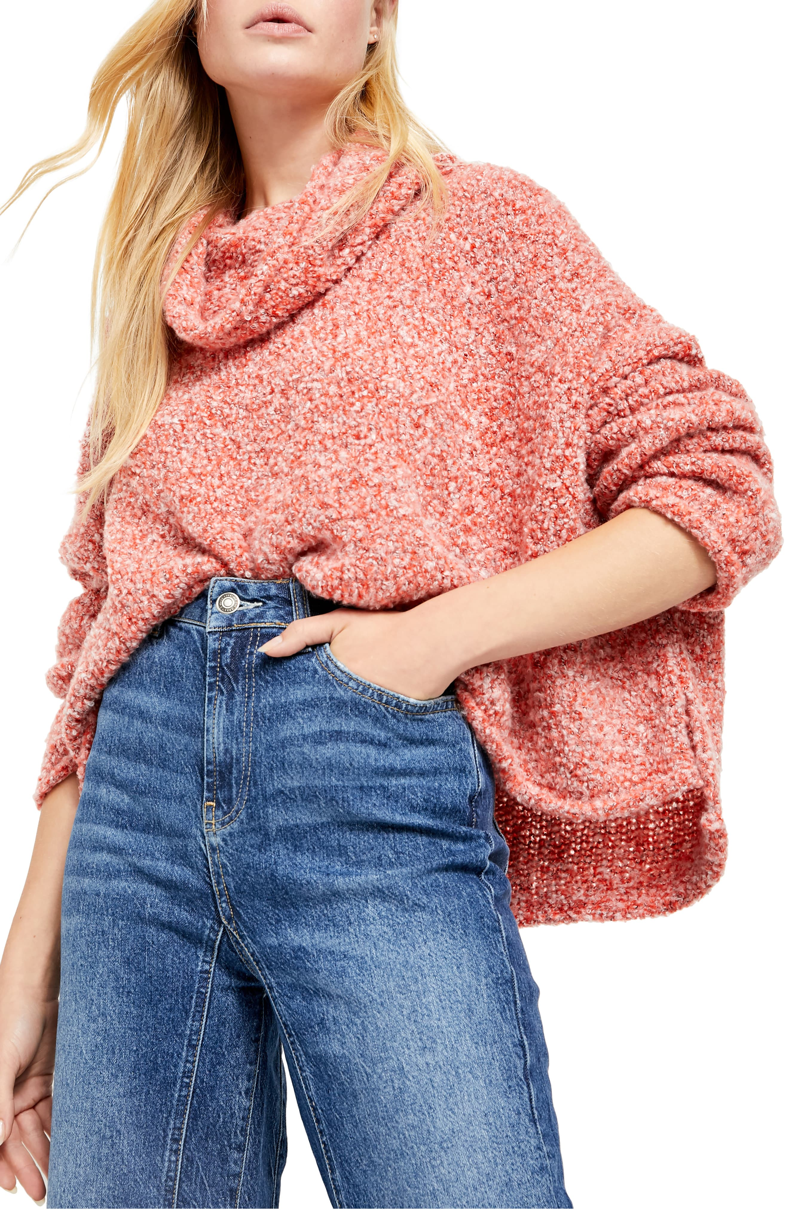 Free People BFF Cowl Neck Sweater $49.00 +fs