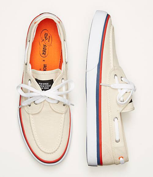 Jack Spade Sperry's starting at $37 with code REDHOT