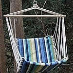 Prime Garden Beaches Stripe Cushioned Single Hammock Swing 50% OFF, only $49.99 + fs @amazon.com