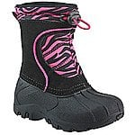 Sporto® Girls' Zebra Stripe Winter Boots  $22.97 + ship @carsons.com