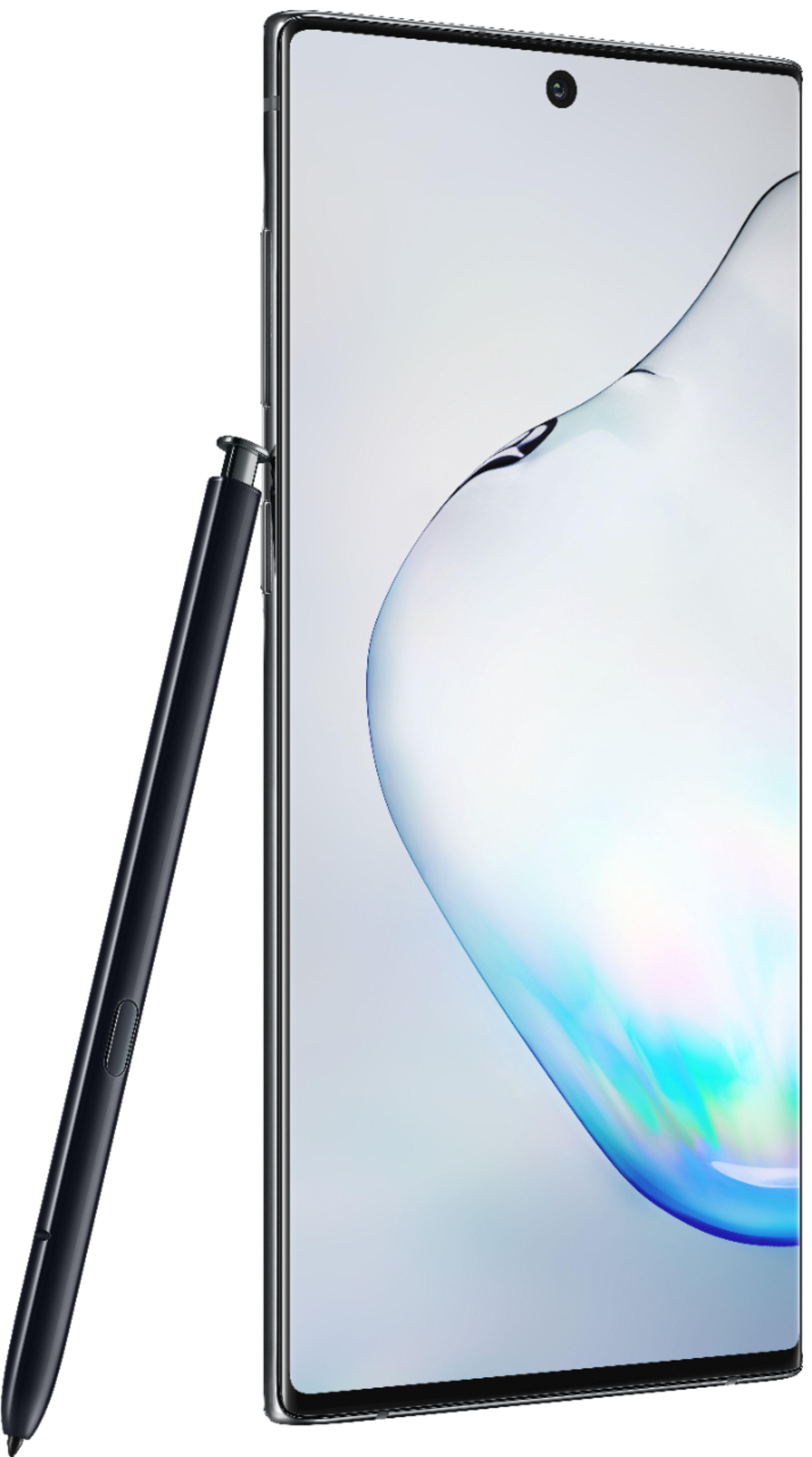 Samsung - Galaxy Note10 with 256GB Memory Cell Phone (Unlocked) - Aura Black $549.99 +fs $550