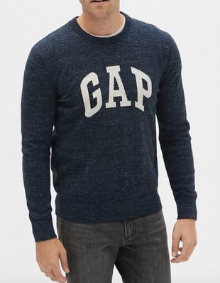 GAP Crewneck Logo Sweater $9.98