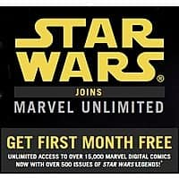 Marvel Deal: One Month Marvel Unlimited for free!
