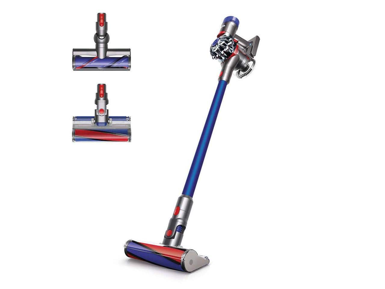 Dyson V8 Absolute Total Clean HEPA Cordless Vacuum Blue REFURBISHED ($229.99 + Free shipping)