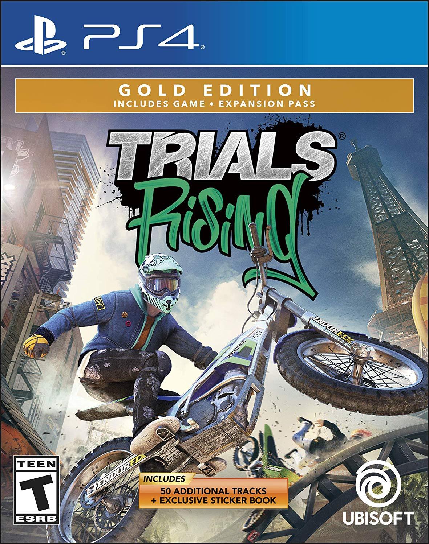 Trials Rising - PlayStation 4 Gold Edition [Disc, Gold, PlayStation 4] $15