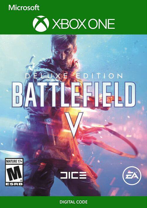 Battlefield V Deluxe Edition XBOX One Digital Code CDKEYS $12.49