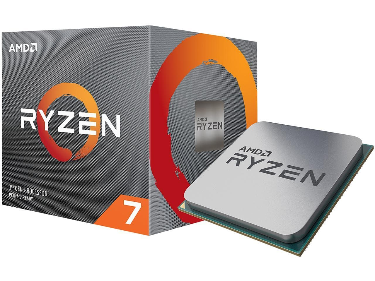 AMD RYZEN 7 3700X 8-Core 3.6 GHz (4.4 GHz Max Boost) Socket AM4 65W at NewEgg $273.47