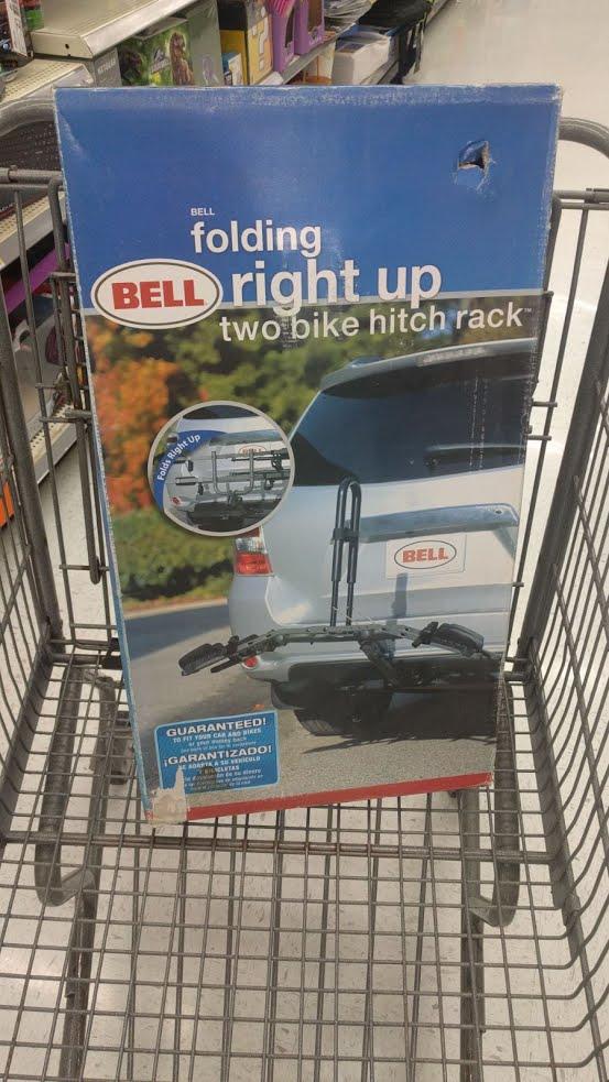 Hitch Bike Racks $30 Wal-Mart **EXTREME YMMV**