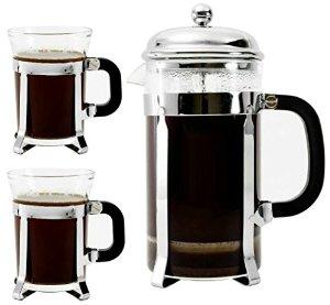 8 cup French Press + 2 Mugs - $15 @ Amazon