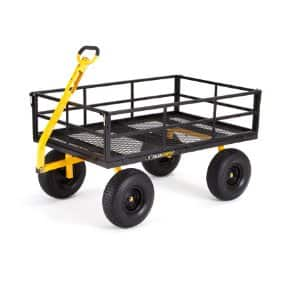 GroundWork 1,400 lb. Capacity Heavy-Duty Steel Utility Cart - $120 @ Tractor Supply Free Pickup
