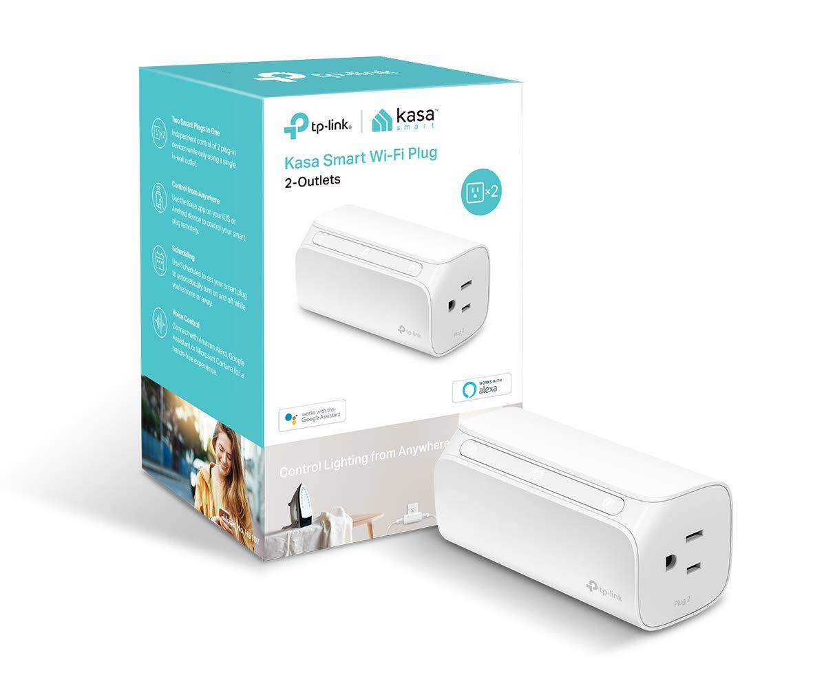 TP-LINK Kasa 2-Outlet Smart Wi-Fi Plug HS107 - $21 @ Lowes and Amazon