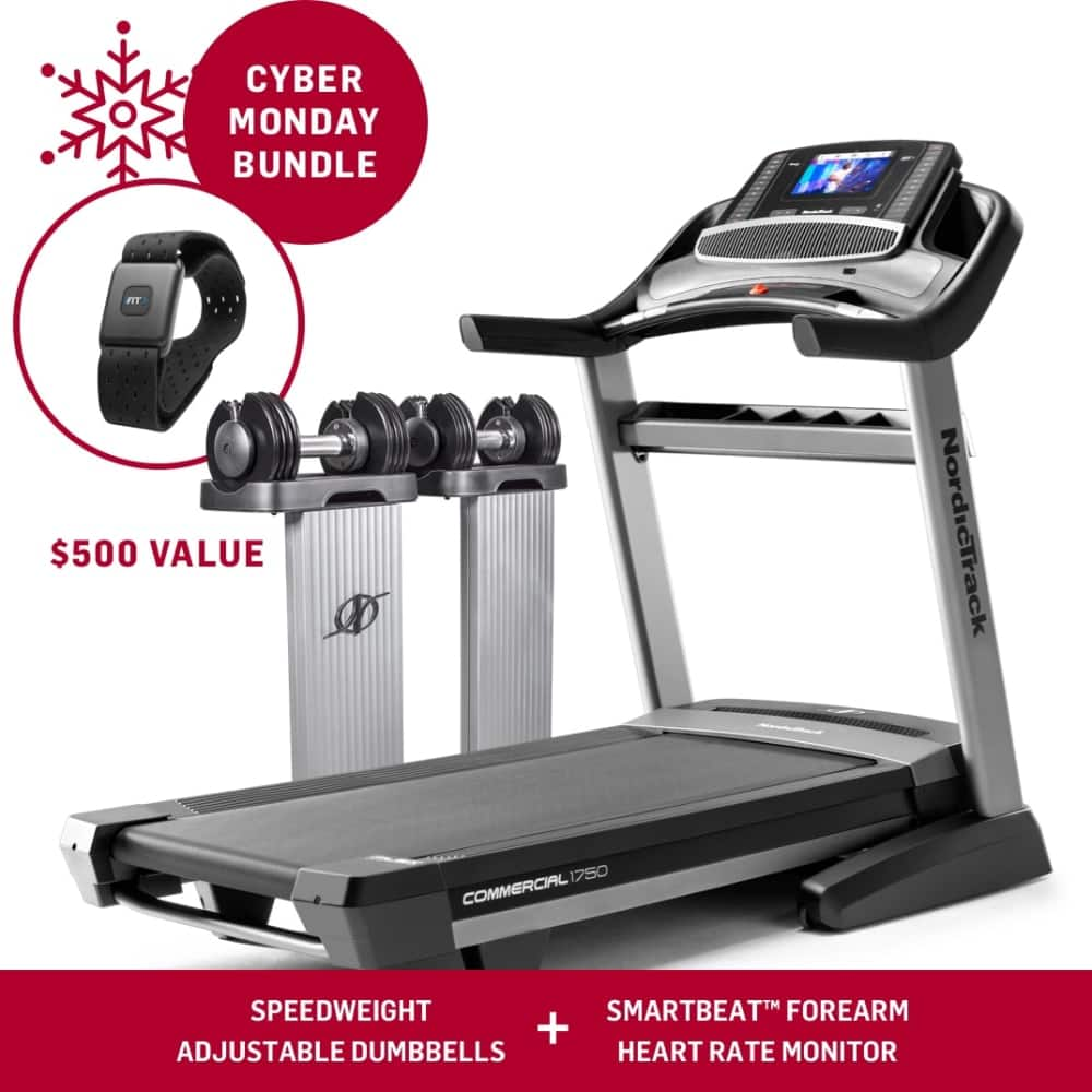 Nordictrack 1750  + Speed weights and Heart rate monitor $1508