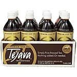 Tejava 100% All Natural Unsweetened Iced Tea, 16.9 Fl Oz (Pack of 12) for $13.60 with 15% S&S @ Amazon