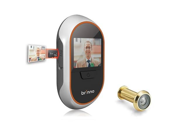 Brinno PHV1330 Digital Front Door PeepHole Viewer & Recorder w/ LCD screen (12mm) $45-