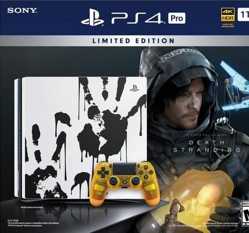 Sony Playstation 4 Pro Console Death Stranding Bundle Limited Edition Pre-Order $399.99