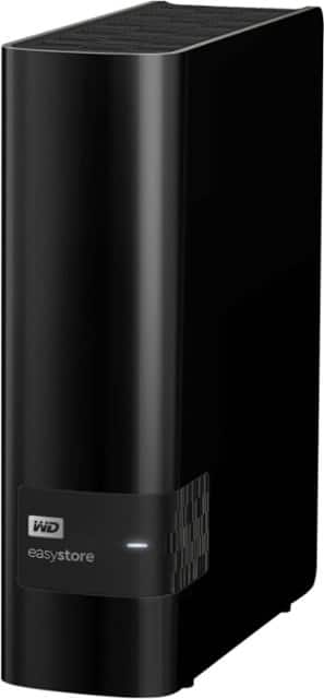 WD - Easystore 10TB External USB 3.0 Hard Drive - Black $159.99 at Best Buy