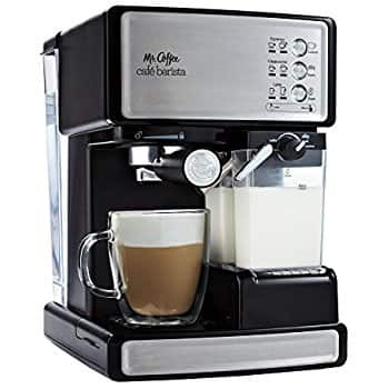 Mr. Coffee ECMP1000 Café Barista Premium Espresso/Cappuccino System on Amazon for $119.47