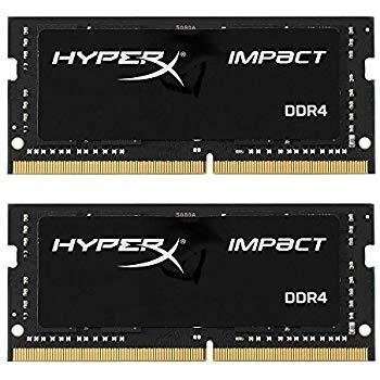 16GB Kingston Technology HyperX Impact 2666MHz DDR4 CL15 Laptop Memory (2x8GB kit) @ Amazon $79