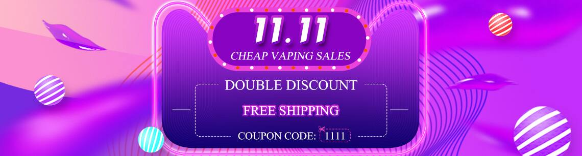 2017 11.11 Global Shopping Festival cheap vaping sales, free shipping @ SourceMore