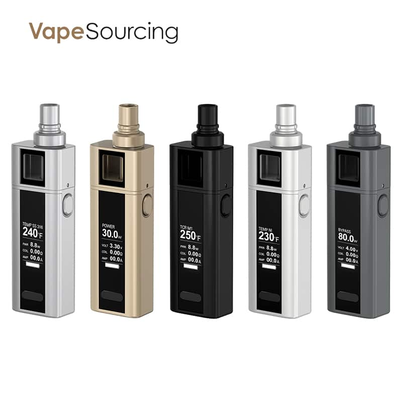 Joyetech Cuboid mini full kit for e-cigar vaping best deal $17.90 @ VapeSourcing