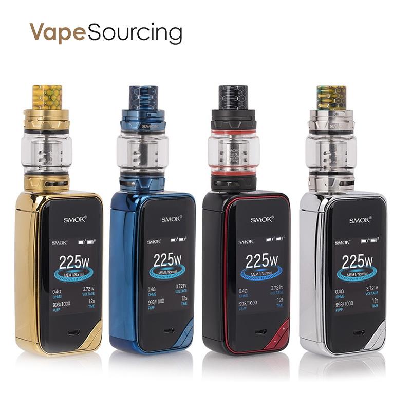 SMOK X-PRIV Kit with TFV12 Prince 225W for e-cigar vaping $52.70 AC @ VapeSourcing