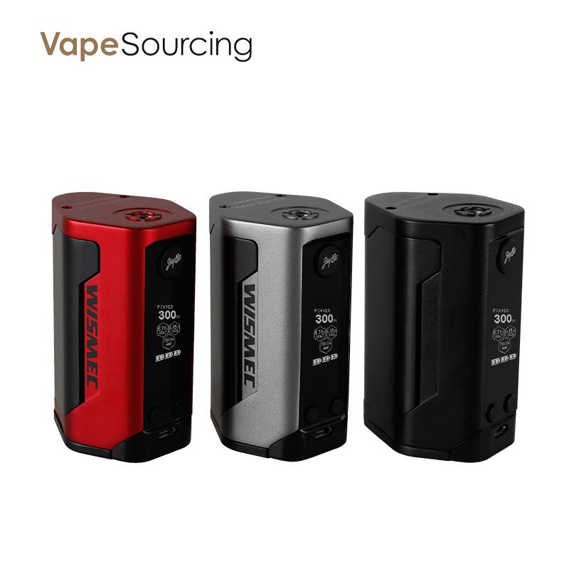 Wismec Reuleaux RX GEN3 TC Box Mod 300W for e-cigar vaping $34.90 @ VapeSourcing