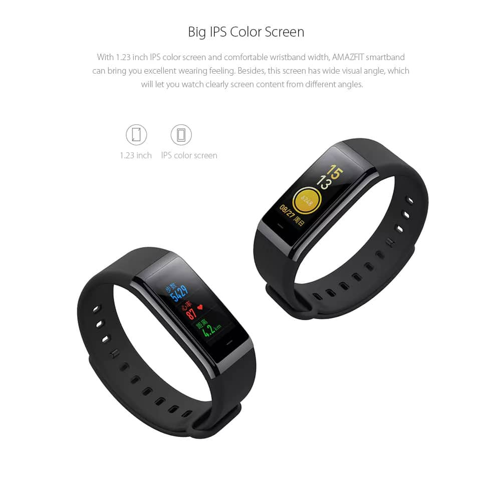 Xiaomi Huami AMAZFIT Cor Smartwatch (International Version)  $48.09 AC w/ FS @ GearVita