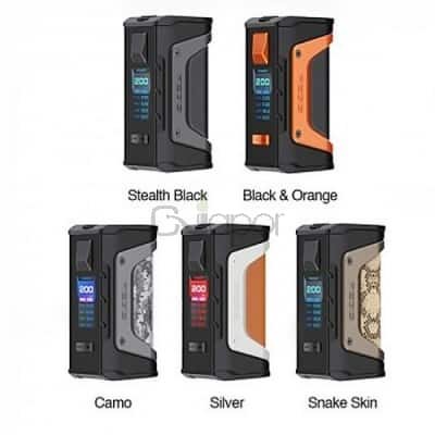Geekvape Aegis Legend 200W Mod for e-cigar vaping in stock for $43.55 AC @ CVapor