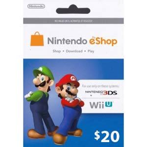 Nintendo eShop $20 card $17 AC @ Frys B&M only YMMV