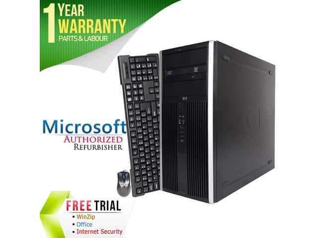 Refurbished HP Desktop Computer Elite 8000 Core 2 Duo E8400 2TB HDD 8GB DDR3 RAM $162.99 + $6.99 s/h @ Newegg $169.98