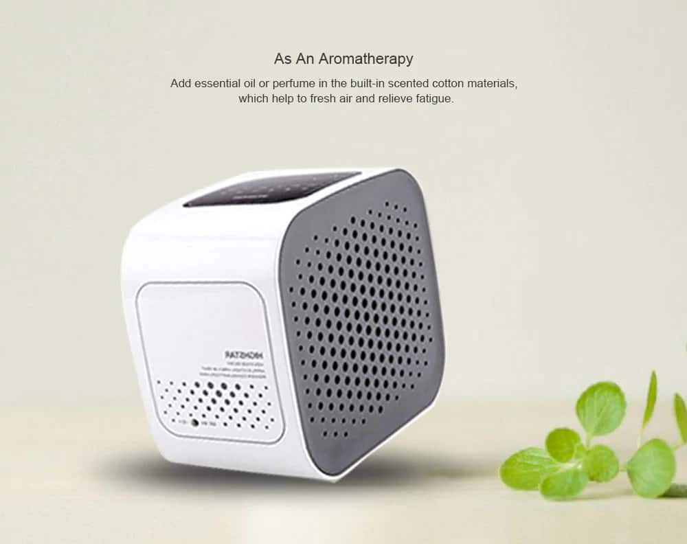 Mini Air Purifier Smart Living Space Cleaner  $24.99 + Free Shipping AC @ GearVita