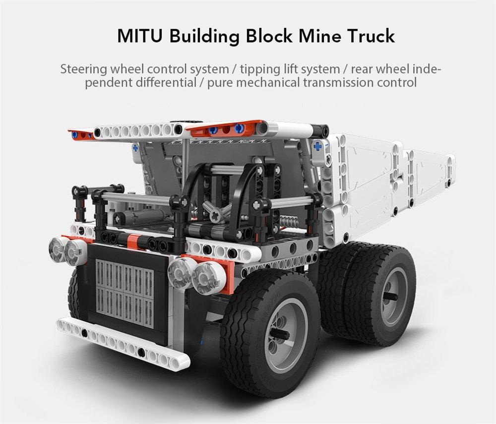 Xiaomi MiTU Puzzle Building Block Mine Truck $29.49 w/ FS @ GearVita