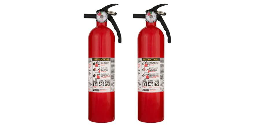 Kidde Home Fire Extinguisher (2-Pack) $29.99