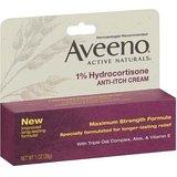 Amazon:  2 -pk Aveeno Anti-Itch Cream, 1% Hydrocortisone, Max. Strength, 1 oz.--  Low as $2.46 A/C & 5 S&S