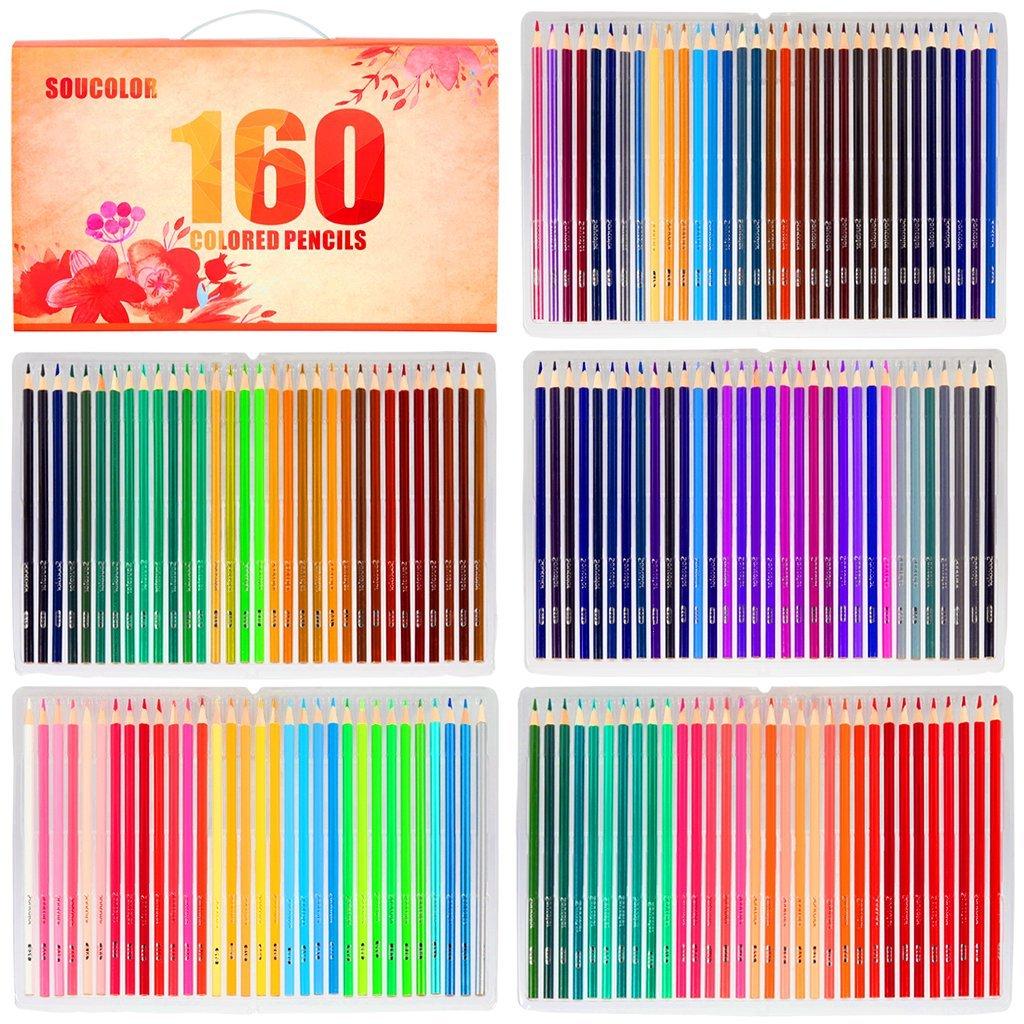 Soucolor 160 Colored Pencils Art Set @ Amazon $18.97 AC
