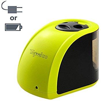 Tepoinn Battery Operated (4xAA)/Electric Pencil Sharpener @ Amazon $7.89 AC