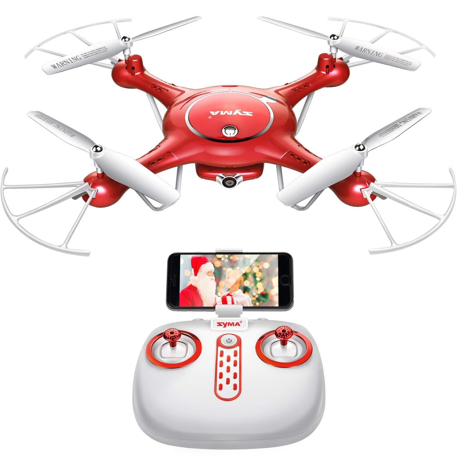Syma X5UW Wifi FPV 720P HD Camera Quadcopter Drone with App Control & Extra Battery @ Amazon $48 AC