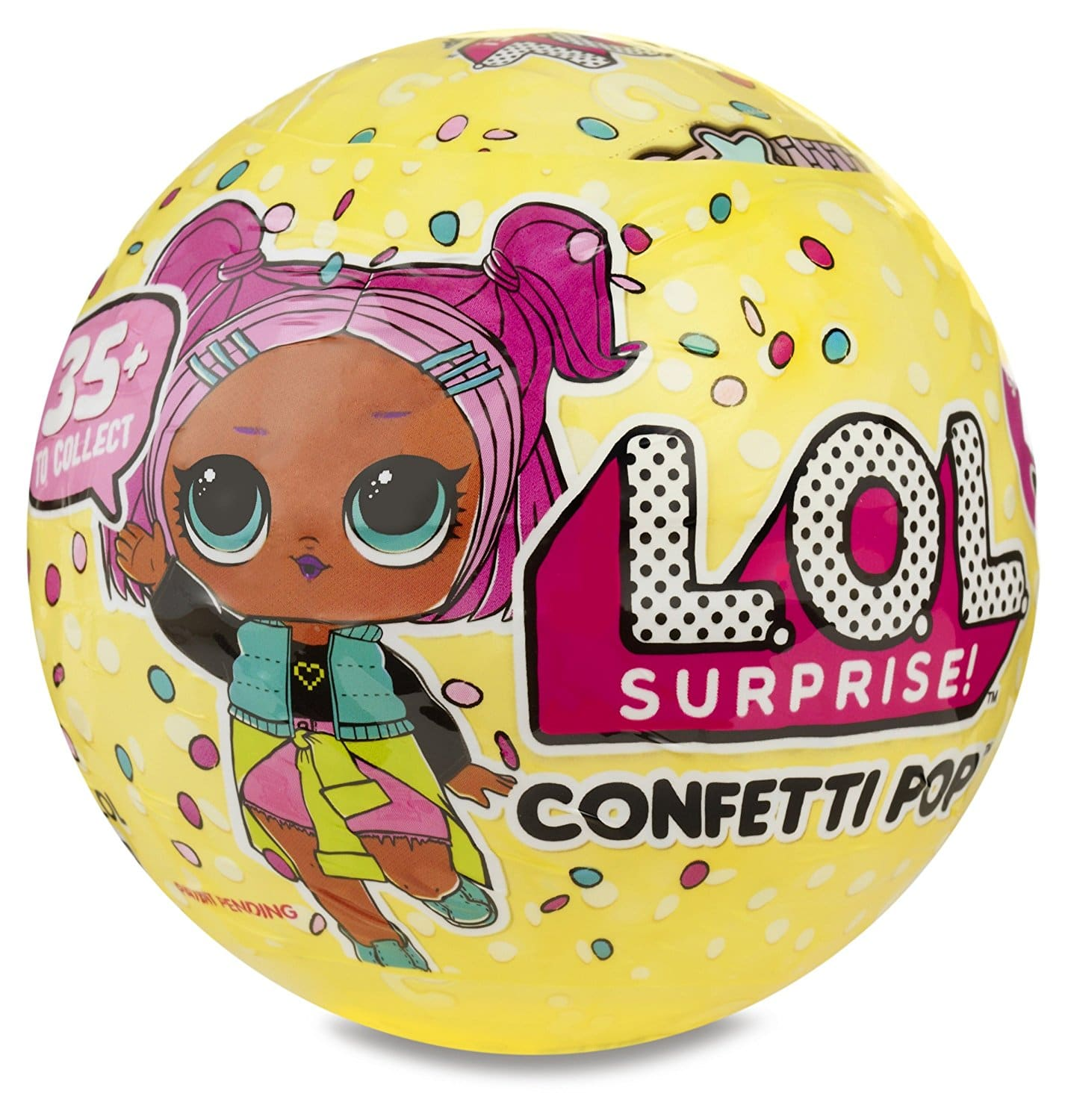 LOL Surprise Confetti Pop Doll - Back in stock at Amazon for $12.99