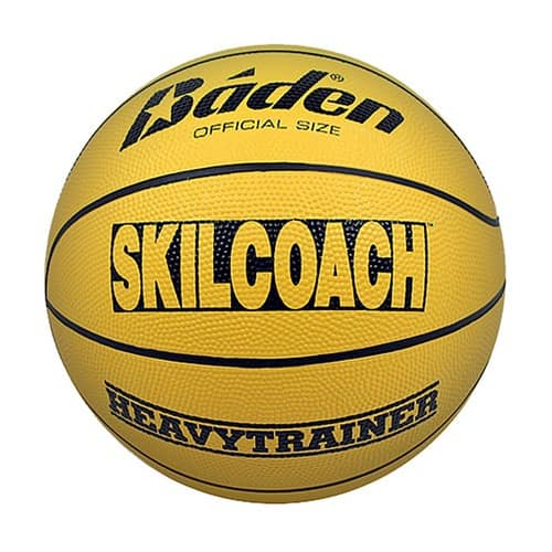 "Baden SkilCoach Heavy Trainer Rubber Basketball (29.5"") $15.99"
