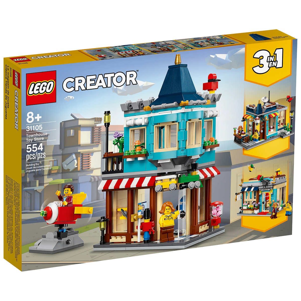 Lego Set 31105 - Creator TownHouse / Toy Store Ages 8+ 554 Pieces $29.97 Shipped Costco.com